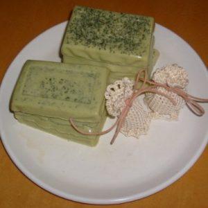 El jabón de aloe vera es un humectante natural